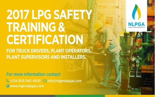 2017 LPG SAFETY TRAINING & CERTIFICATION