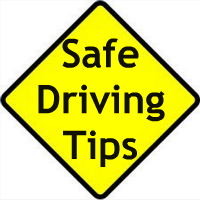 SAFETY TIPS FOR DRIVING