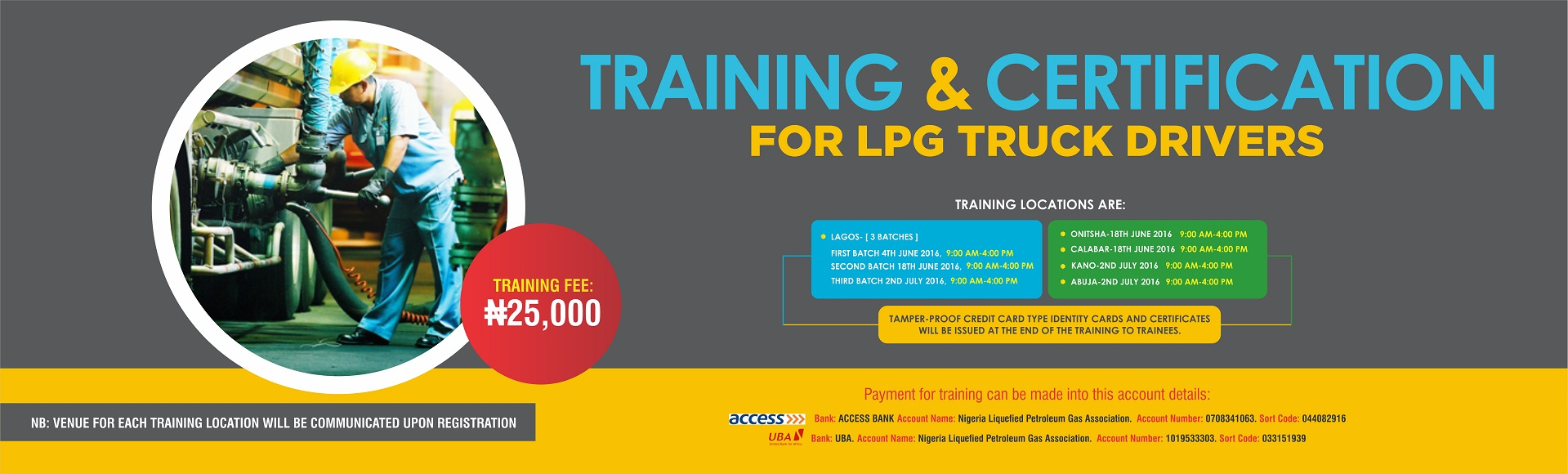 LPG SAFETY TRAINING AND CERTIFICATION